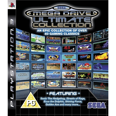PS3 SEGA Megadrive Collection