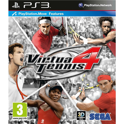 PS3 Virtua Tennis 4
