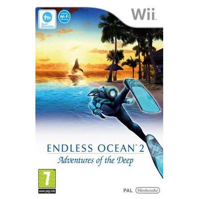 Wii Endless Ocean 2