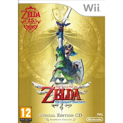 Wii LOZ Skyward Sword