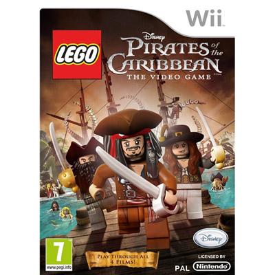 Wii Lego Caribbean Pirates