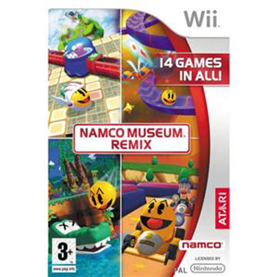 Wii Namco Museum Remix