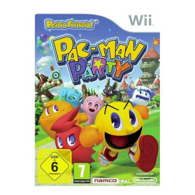 Wii Pac Man Party