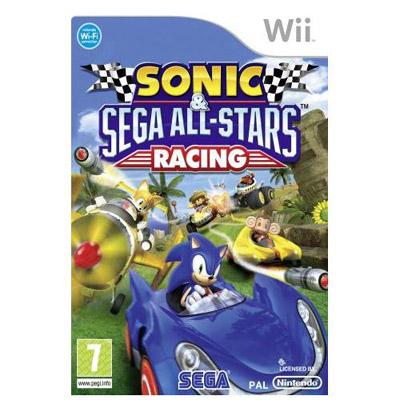 Wii Sonic Sega Allstars