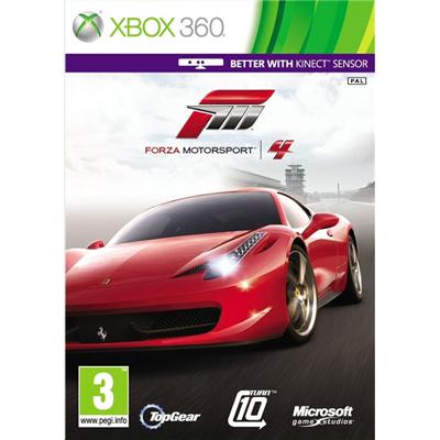 Xbox Forza Motorsport 4